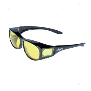 Goes over your Glasses Safety Glasses Yellow Z87